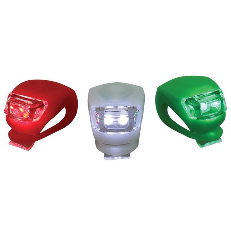 Lampy Nawigacyjne Do łodzi Na Baterie Komplet 3szt