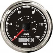 PRĘDKOŚCIOMIERZ GPS 27km/h CS - Q - 85mm